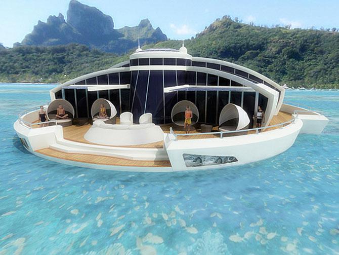 Incredibila insula plutitoare, de la MPD Designs - Poza 10