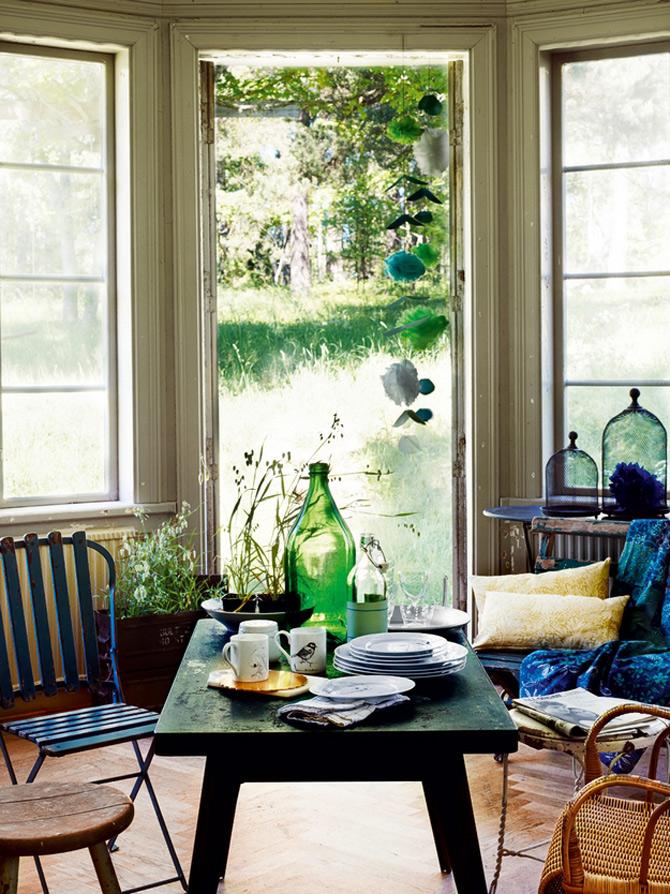 Idei verzi pentru interioare cu personalitate - Poza 5