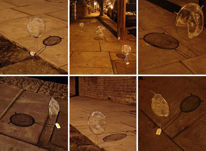 Arta, strecuratori si eclipsa, de Isaac Cordal - Poza 5