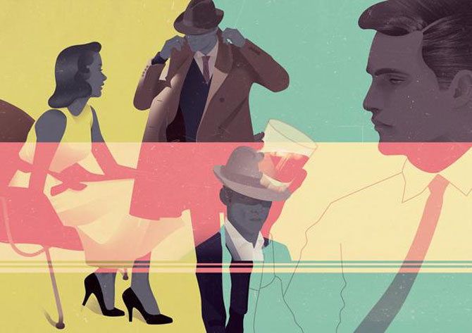 Grafica a la Mad Men, de Jack Hughes - Poza 2