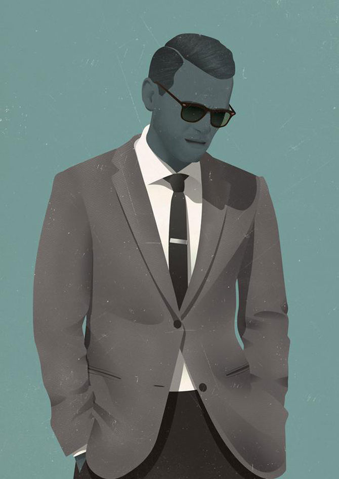 Grafica a la Mad Men, de Jack Hughes - Poza 5