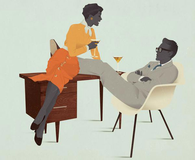 Grafica a la Mad Men, de Jack Hughes - Poza 6