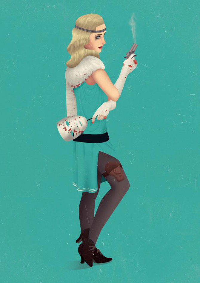 Grafica a la Mad Men, de Jack Hughes - Poza 9