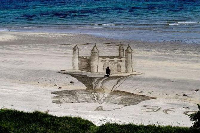 Picturi 3D pe nisip, de Jamie Harkins - Poza 5