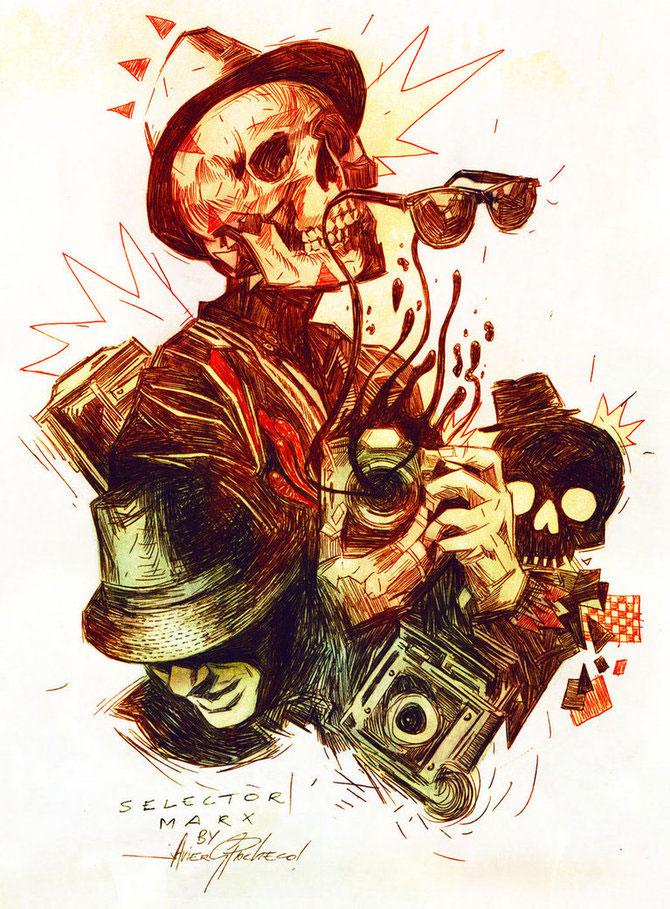 Cranii si portrete de Javier Gonzalez Pacheco - Poza 8