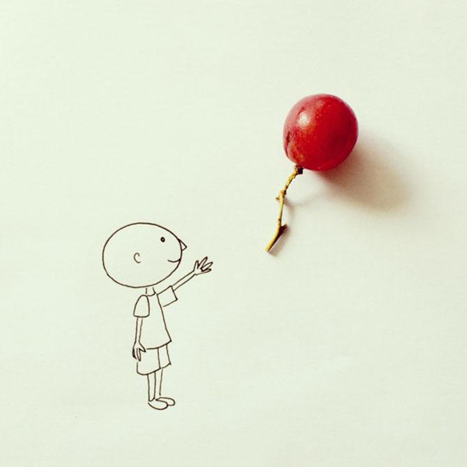 Povesti simpatice spuse in desene cu obiecte banale - Poza 1