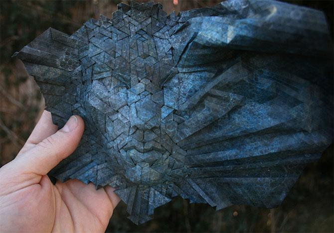 Impresionante masti din origami, de Joel Cooper - Poza 2