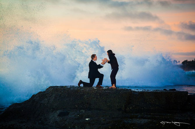 Cerere in casatorie pe val - Poza 1