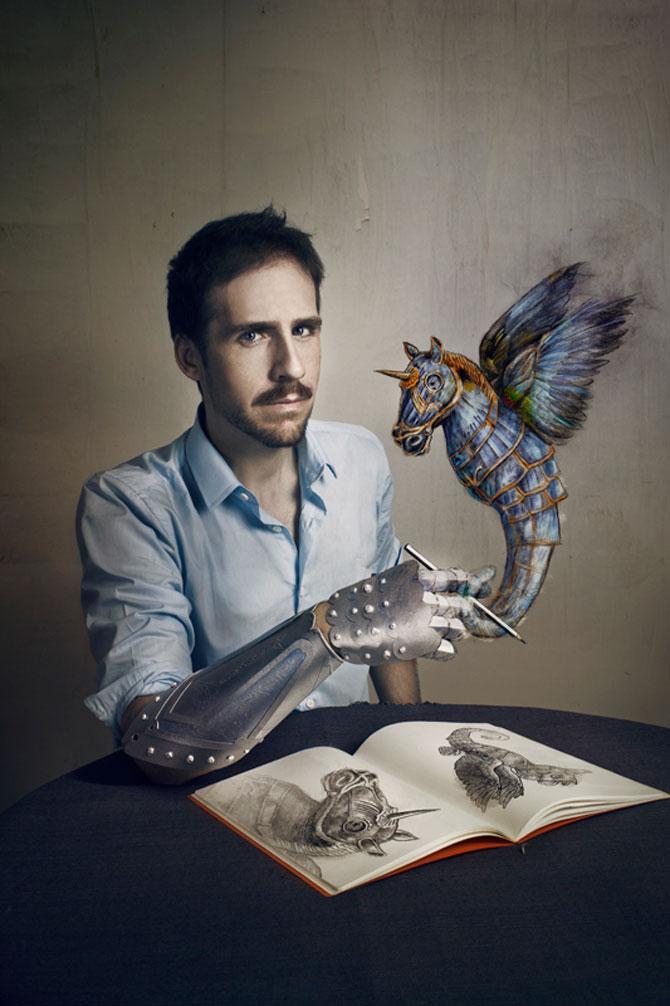 Portrete suprarealiste cu prietenii, de Jon Jacobsen - Poza 1