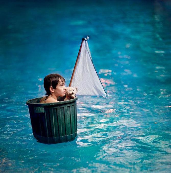 Angela Lumsden si-a fotografiat copiii zilnic timp de un an - Poza 14