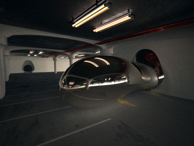 Masina ca opera de arta, sculptura ca loc de parcare, de Juraj Rattaj - Poza 6