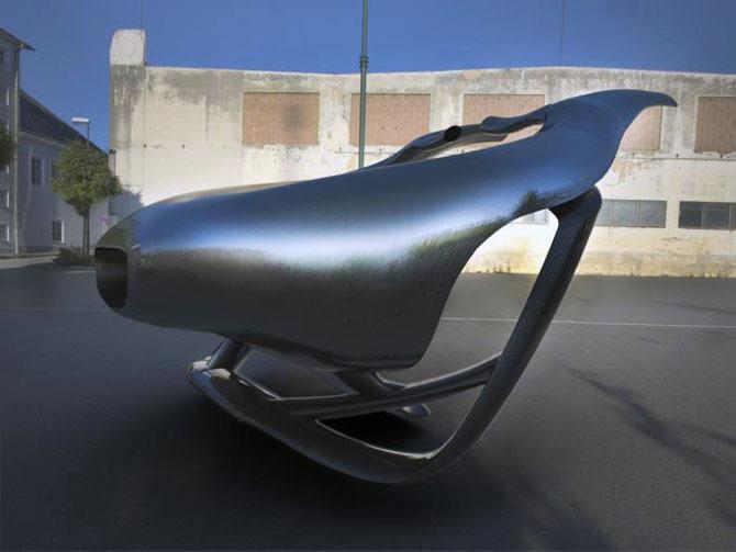 Masina ca opera de arta, sculptura ca loc de parcare, de Juraj Rattaj - Poza 9