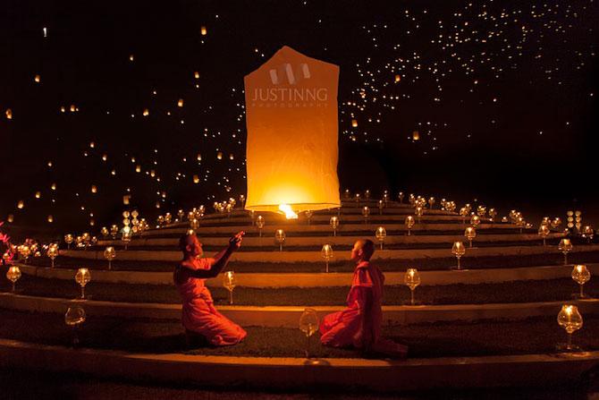 Festivalul lampioanelor din Thailanda, noiembrie 2012 - Poza 3