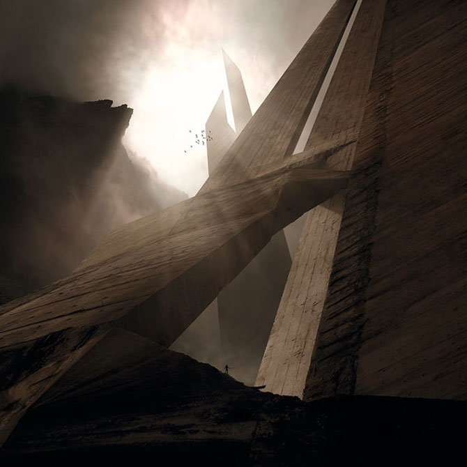 Peisaje foto-pictate in Photoshop de Karezoid Michal Karcz - Poza 1