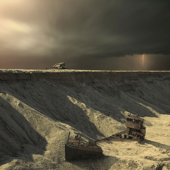 Peisaje foto-pictate in Photoshop de Karezoid Michal Karcz - Poza 2