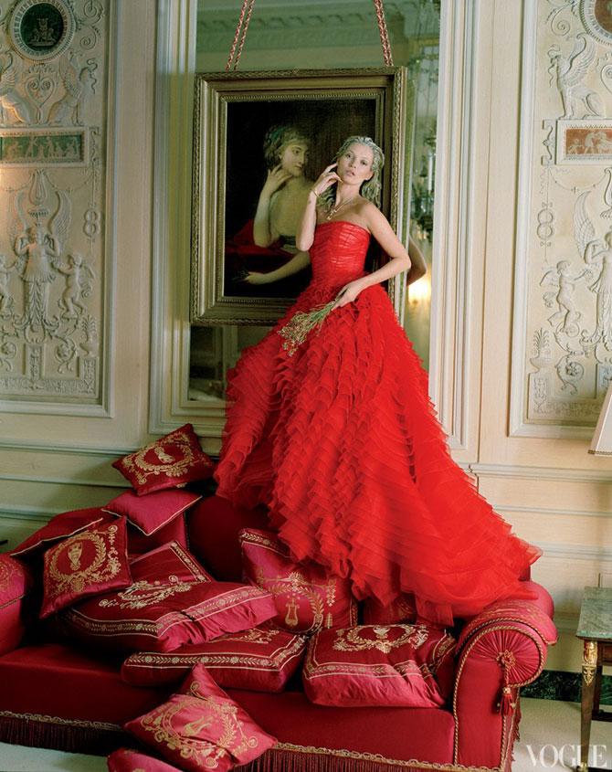 Kate Moss stil baroc la Ritz Hotel - Poza 1