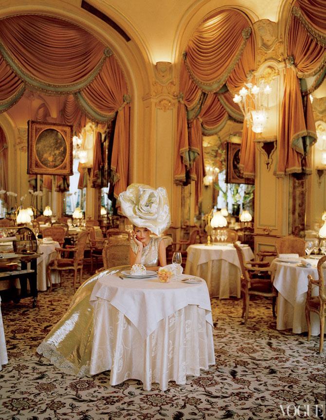 Kate Moss stil baroc la Ritz Hotel - Poza 2
