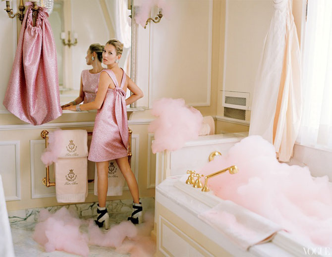Kate Moss stil baroc la Ritz Hotel - Poza 3