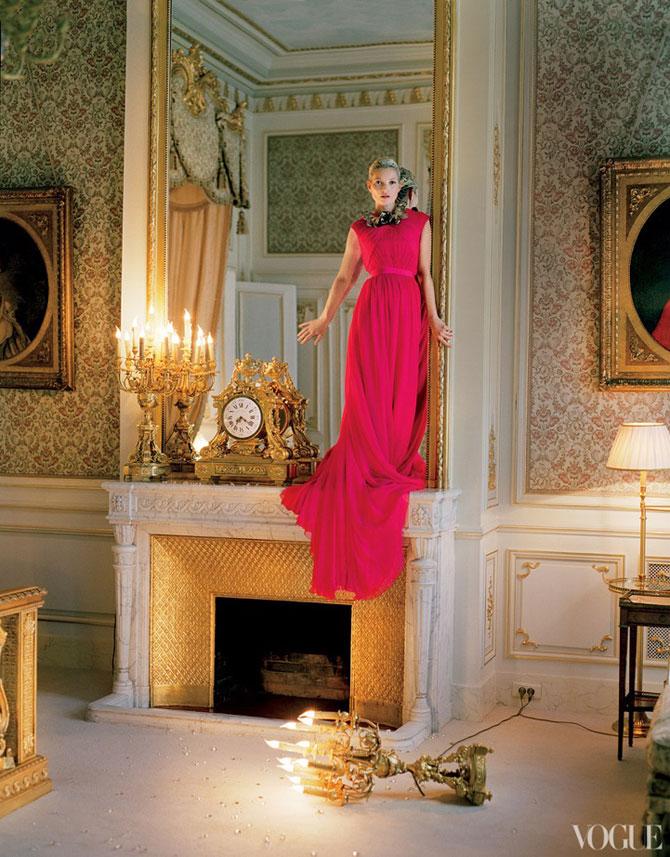 Kate Moss stil baroc la Ritz Hotel - Poza 4