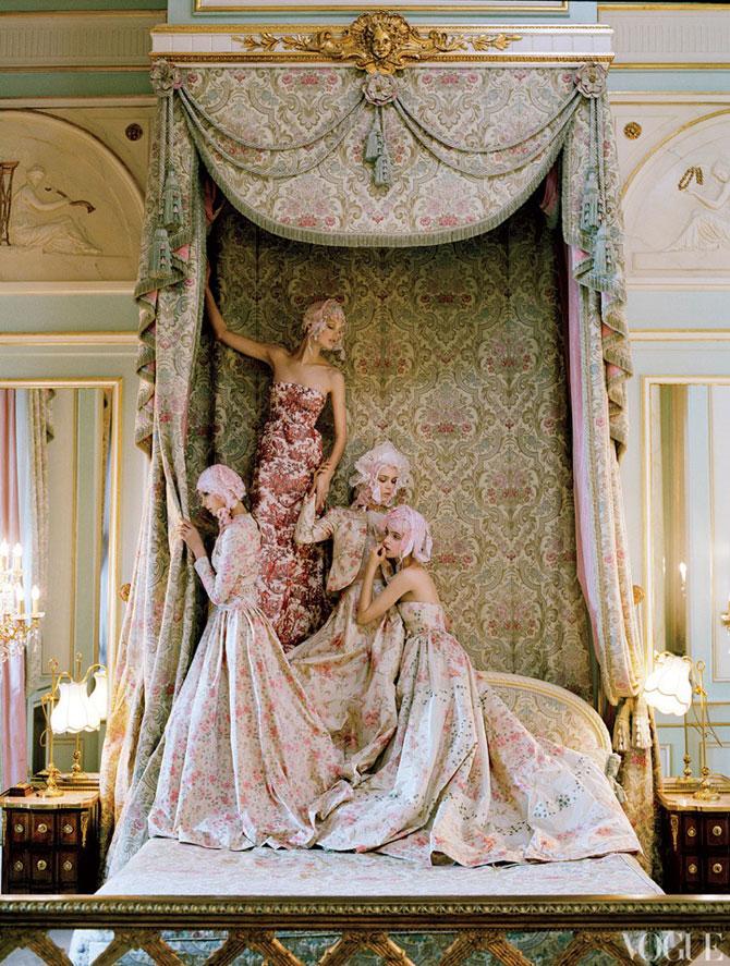 Kate Moss stil baroc la Ritz Hotel - Poza 5