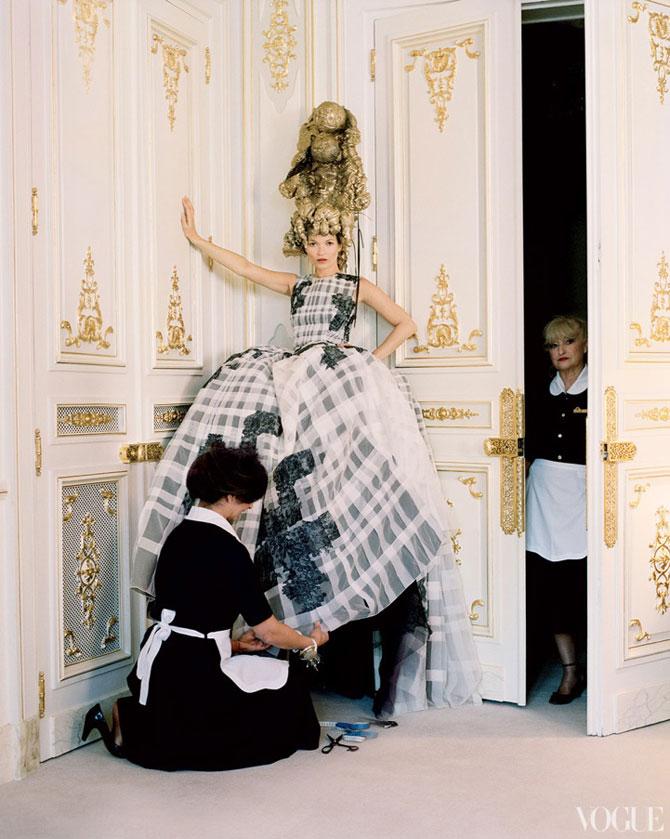 Kate Moss stil baroc la Ritz Hotel - Poza 6