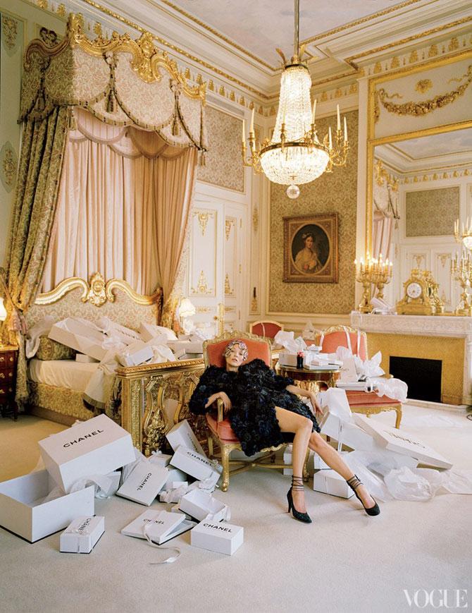 Kate Moss stil baroc la Ritz Hotel - Poza 8