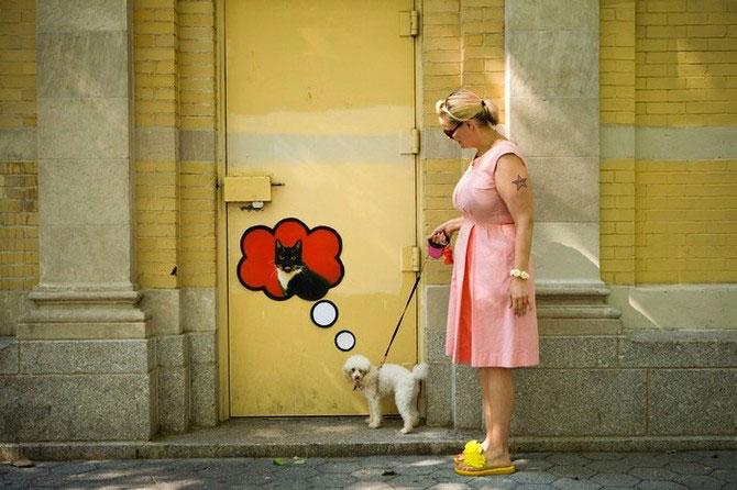 Foto-colaje funny din NYC, de Katie Sokoler - Poza 1