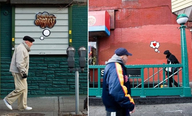 Foto-colaje funny din NYC, de Katie Sokoler - Poza 2