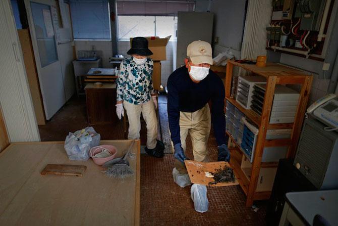 A salvat 500 de animale din ruinele de la Fukushima - Poza 6