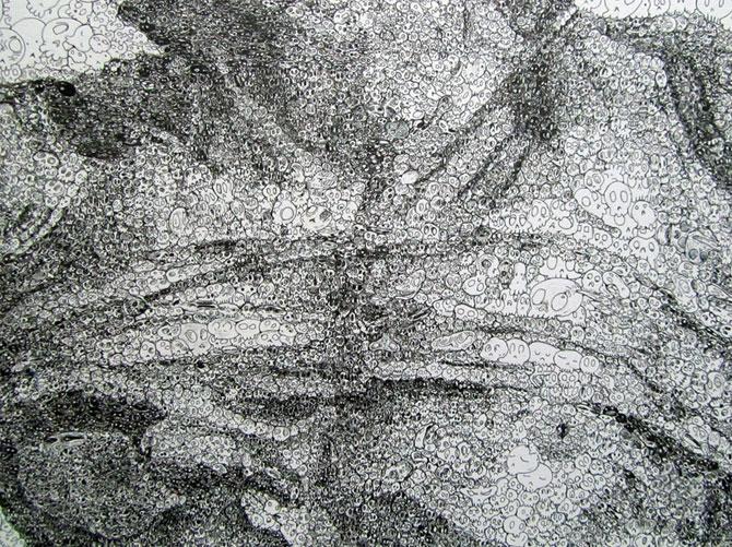 Desenele detaliate zen ale lui Sagaki Keita - Poza 9