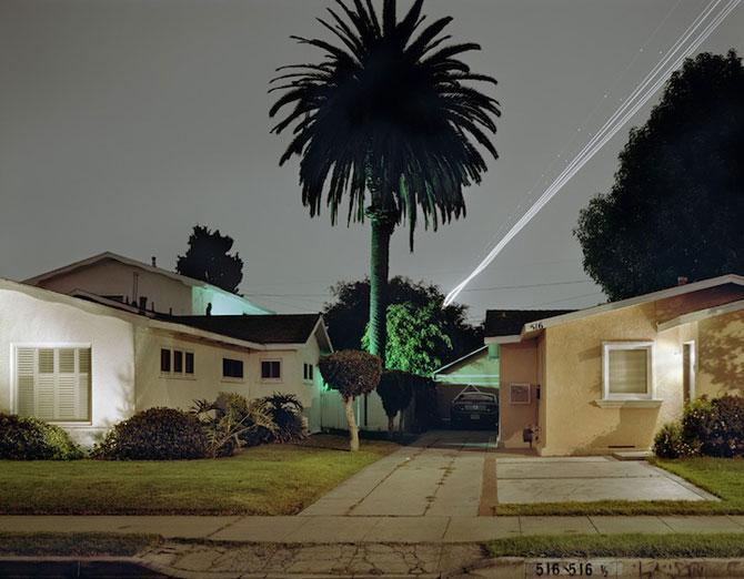 Avioanele deseneaza cu lumina pe cer - Poza 3