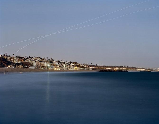 Avioanele deseneaza cu lumina pe cer - Poza 5