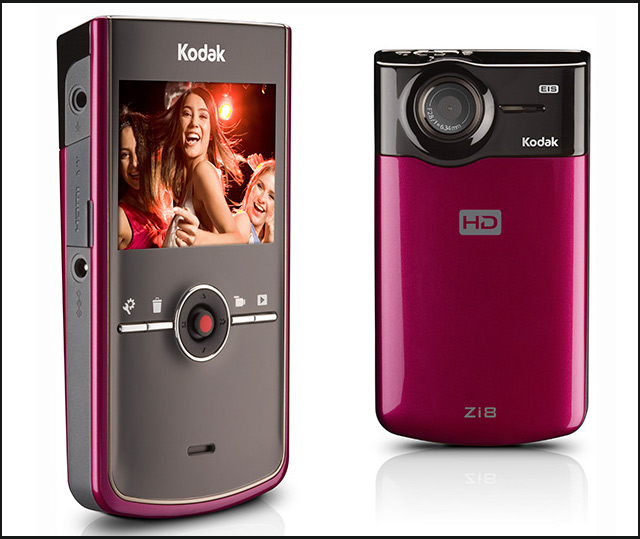 Kodak Zi8 HD Pocket Camcoder - Poza 1