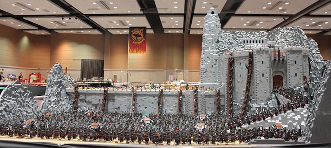 Lord of the Rings din 150.000 de piese LEGO - Poza 1