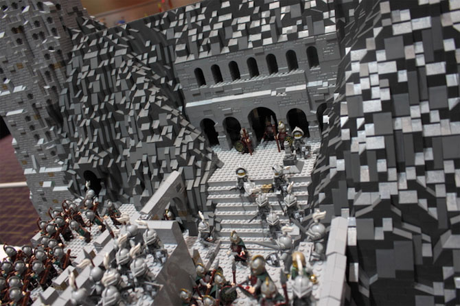 Lord of the Rings din 150.000 de piese LEGO - Poza 2