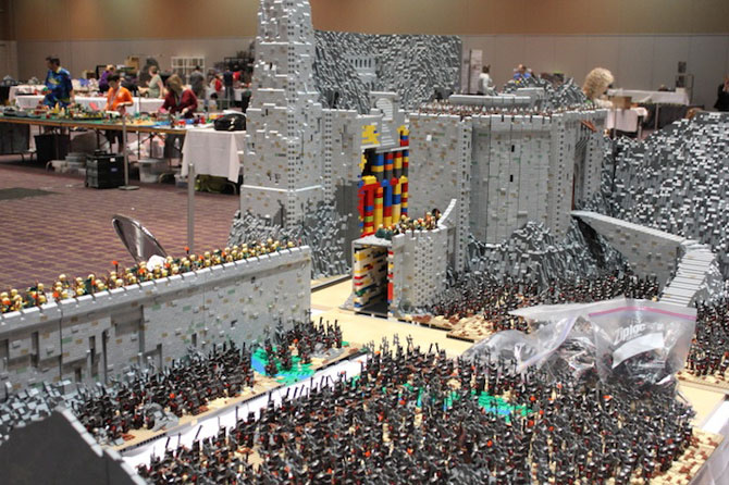 Lord of the Rings din 150.000 de piese LEGO - Poza 7