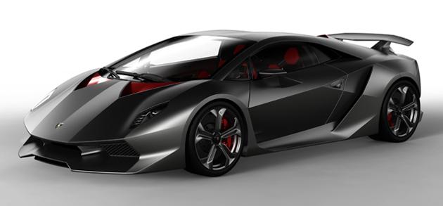 Lamborghini Sesto Elemento Concept! - Poza 1
