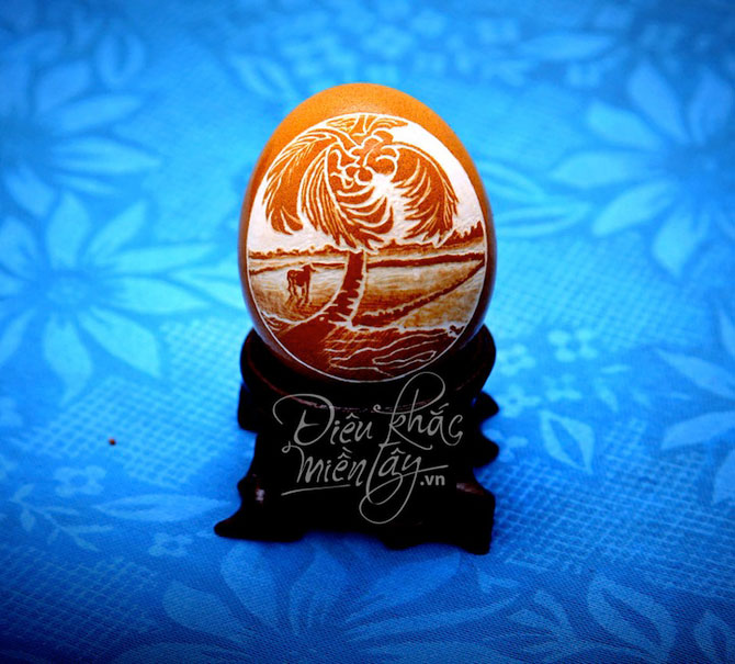 Lampi in coaja de ou, de Ben Tre