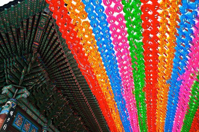 Lampioane colorate in Coreea, de ziua lui Buddha - Poza 5