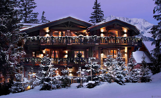 Cea mai luxoasa cabana de ski din Alpii francezi - Poza 1