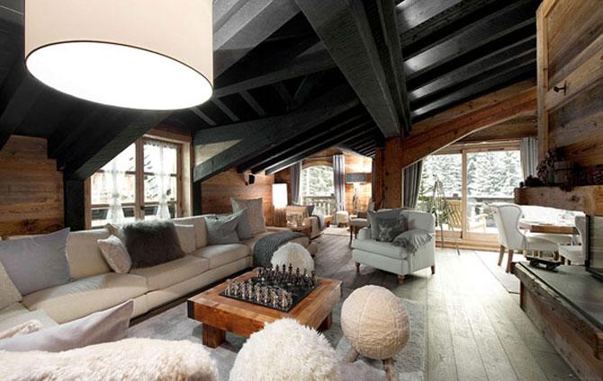 Cea mai luxoasa cabana de ski din Alpii francezi - Poza 2