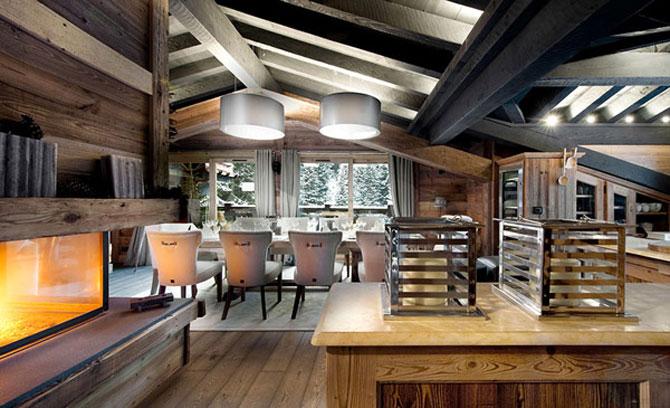 Cea mai luxoasa cabana de ski din Alpii francezi - Poza 3
