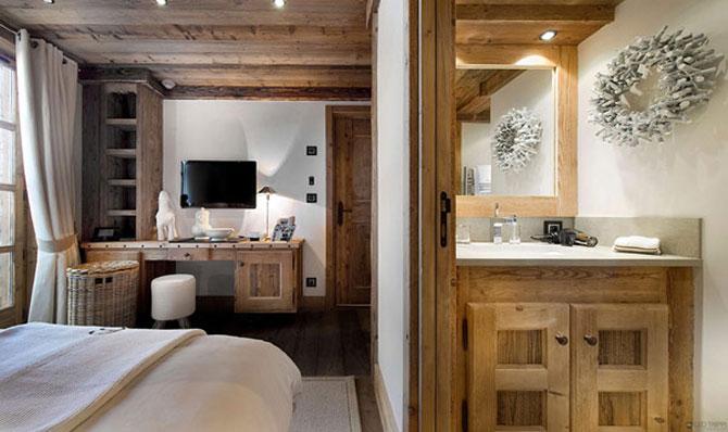 Cea mai luxoasa cabana de ski din Alpii francezi - Poza 6