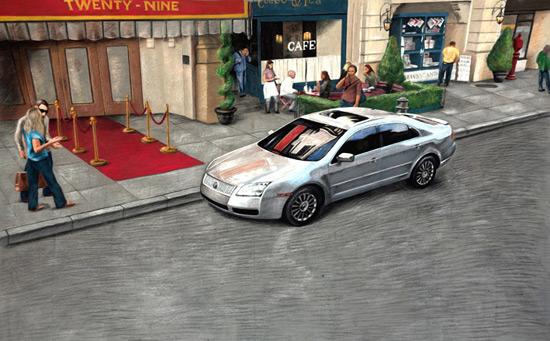 25 de desene 3D pe asfalt - Poza 15