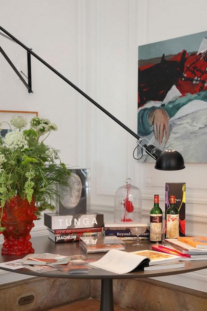 Livingul impatimitului de arta, imaginat de Gisele Taranto - Poza 8