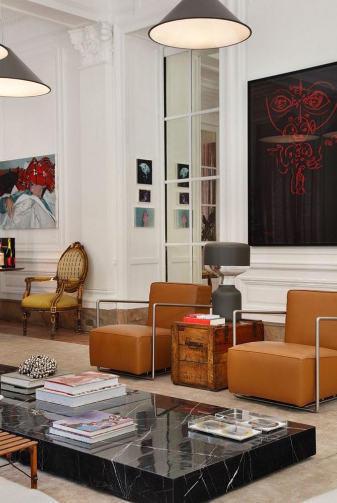 Livingul impatimitului de arta, imaginat de Gisele Taranto - Poza 9