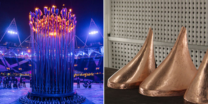 Cazanul Flacarii Olimpice - Papadia lui Thomas Heatherwick - Poza 1