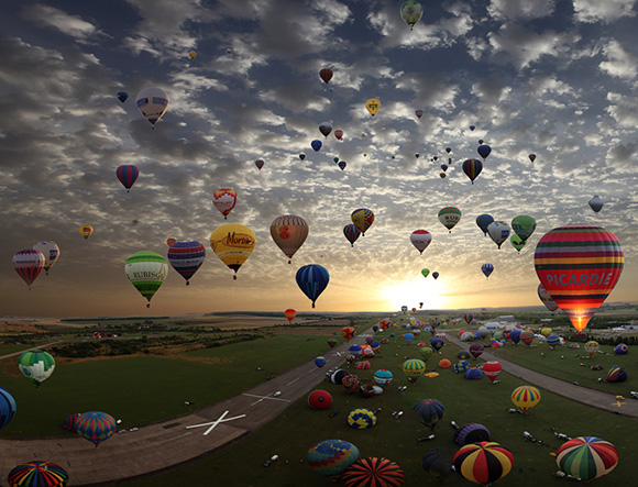 Poze captivante: 329 de baloane - Poza 1