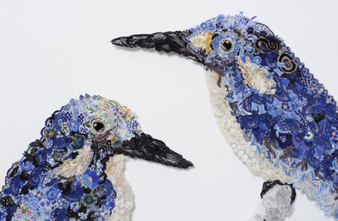 Memoria pasarilor crosetate, de Louise Saxton - Poza 1