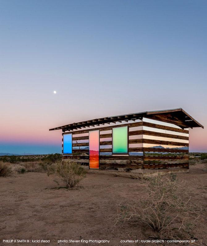 Casa-miracol din mijlocul desertului californian Joshua Tree - Poza 1